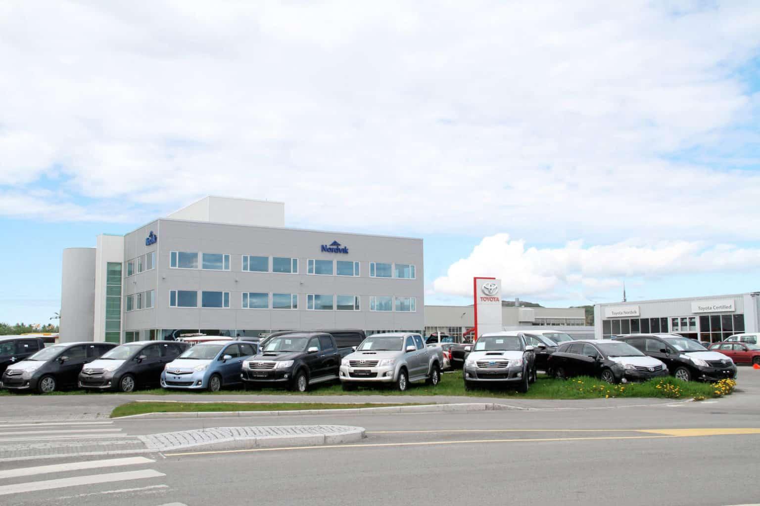 Administrasjonsbygget til Nordvik Gruppen i Bodø