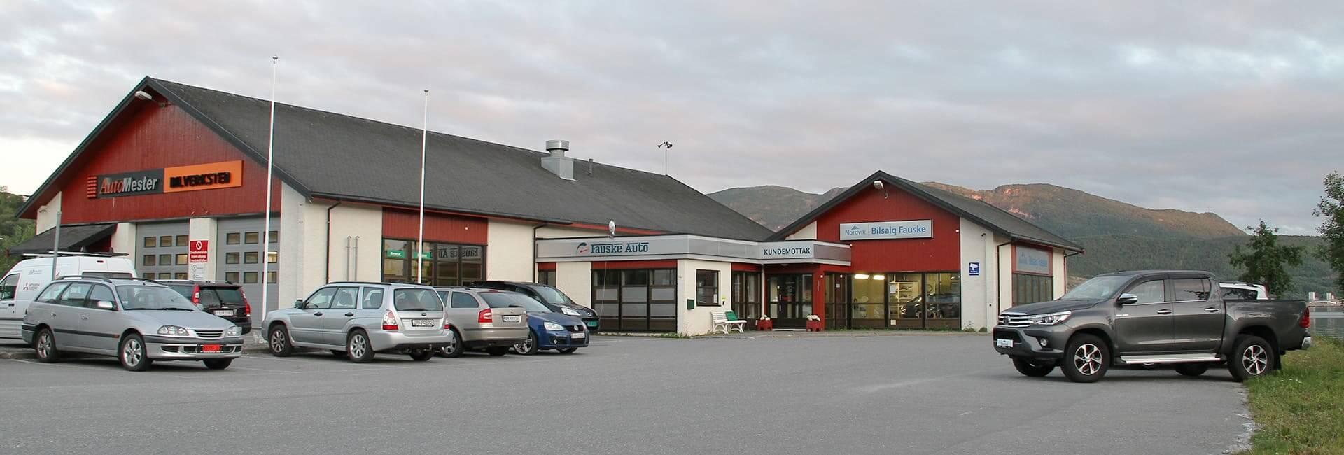 Bilde av fasaden til Nordvik på Fauske