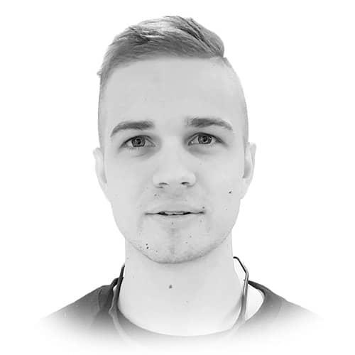 Danelis Zuravlovs hos Nordvik Leknes