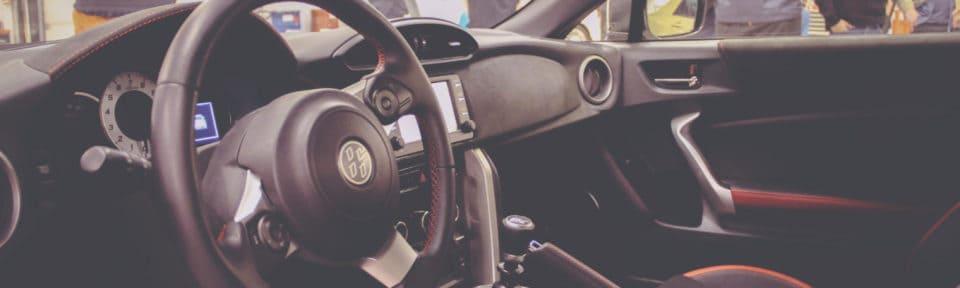 Bilder inne i Nordvik fagskole sin Toyota GT86