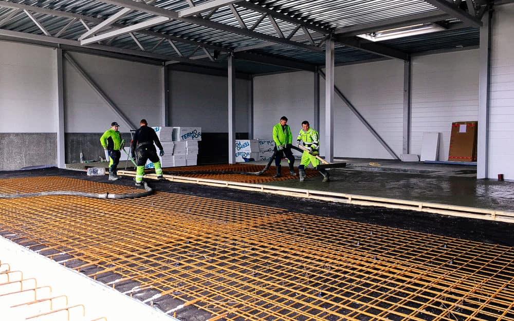 Byggeprosessen på Nordvik Leknes