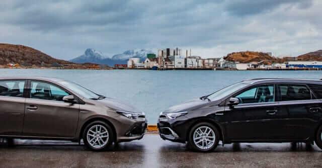 Toyota Auris Hybrid og Toyota Auris TS Hybrid hos Nordvik
